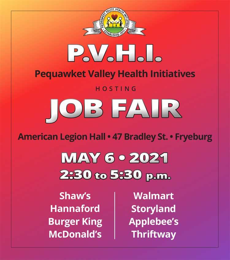 Pequawket Valley Health Initiatives Hosting Job Fair